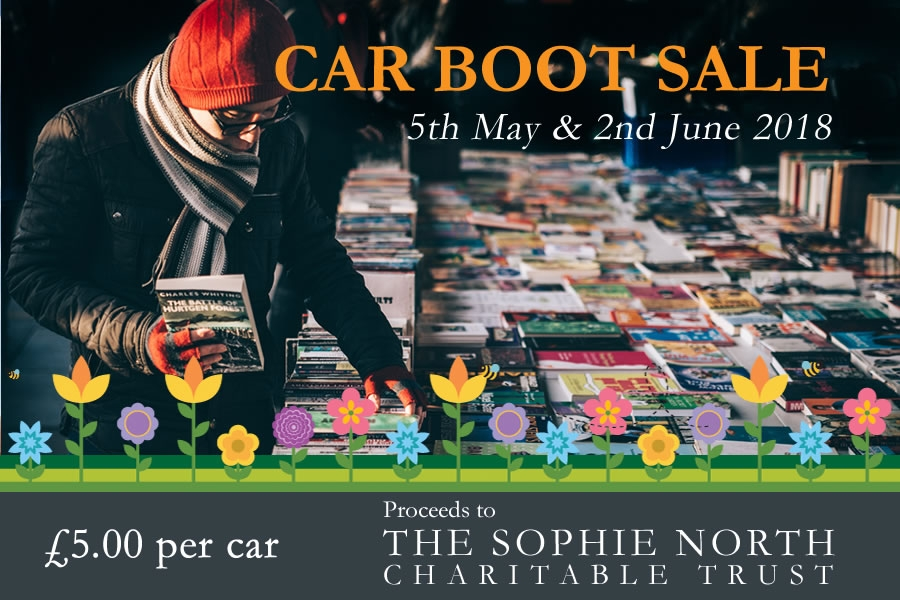 Car boot sale in Moffat in aid of Sophie North Charitable Trust