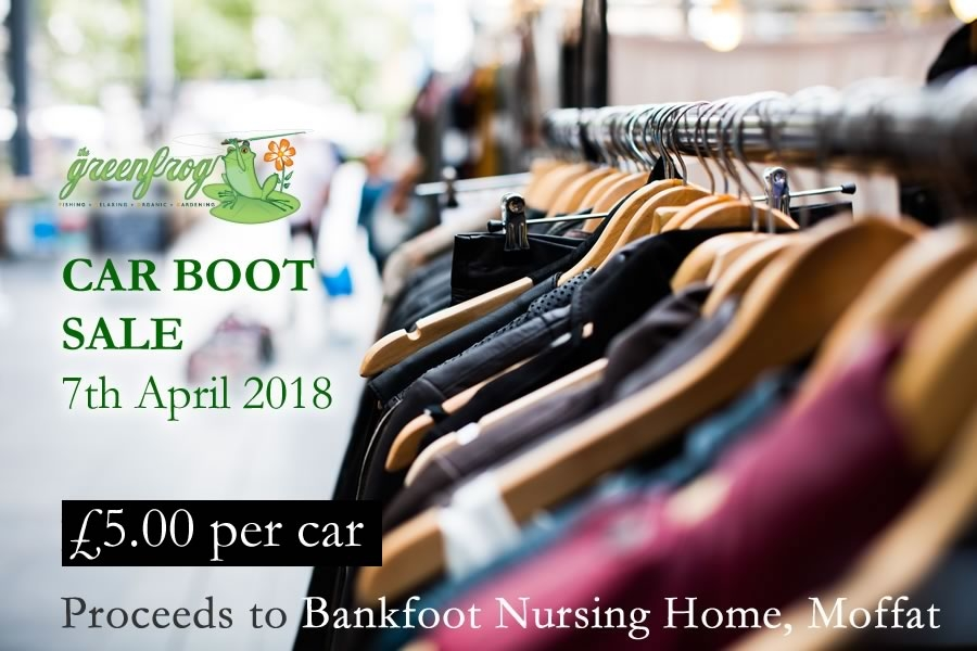 moffat green frog car boot sale