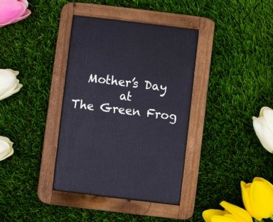 mothers day green frog 2